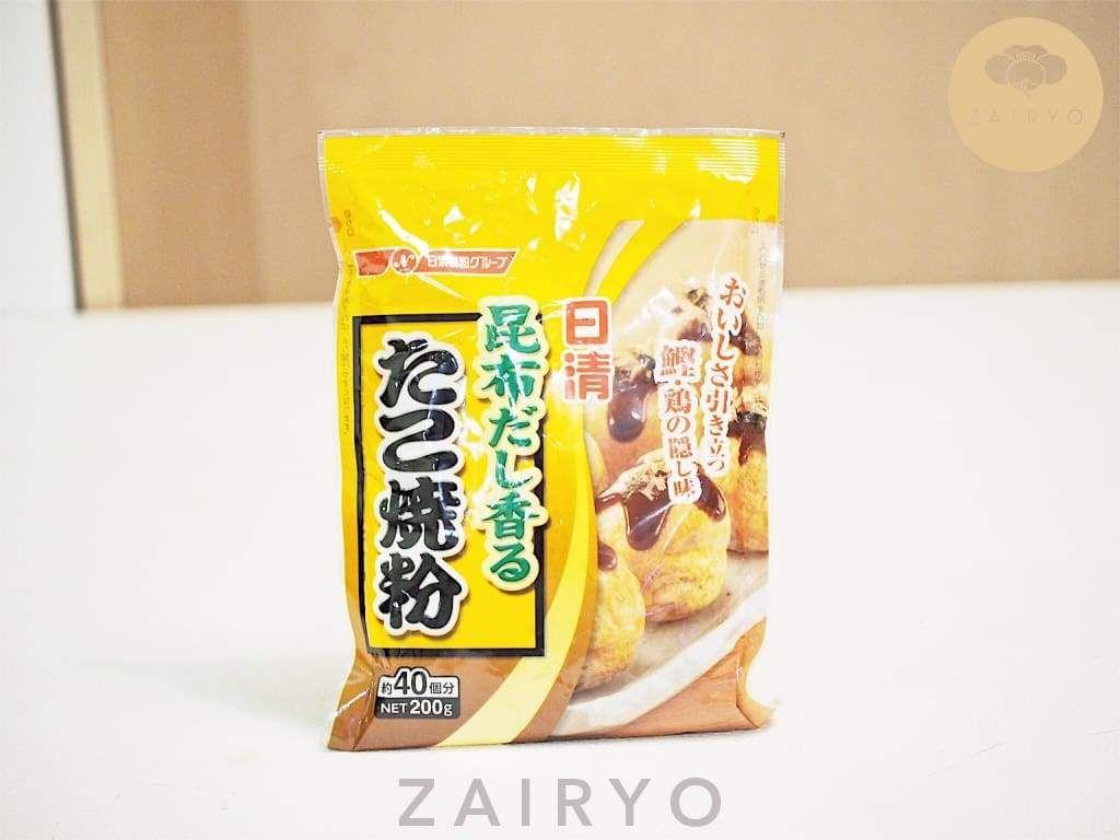 Takoyaki Flour Mix (with Kombu Dashi!) / たこ焼き粉 Zairyo