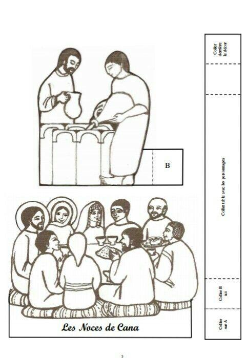 Las Bodas De Cana Figuras Catequese Religiao Escola