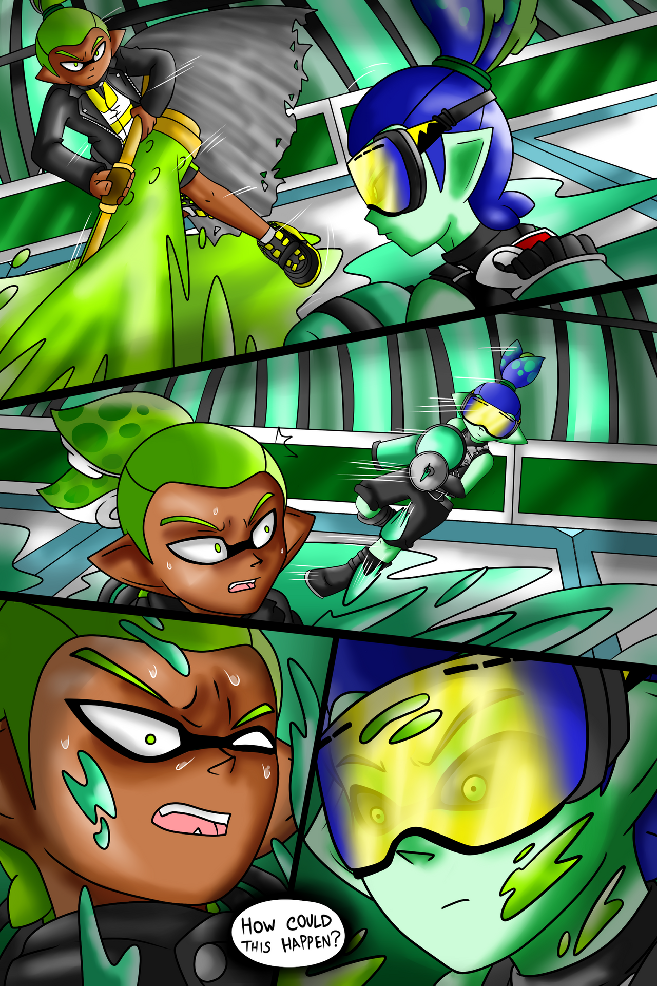 Collab Page 5 by zavraan on DeviantArt   Shadow the