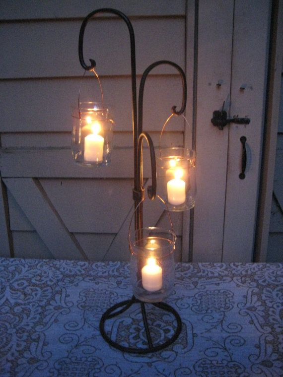 Vintage Rustic Wedding Lighting Outdoor I