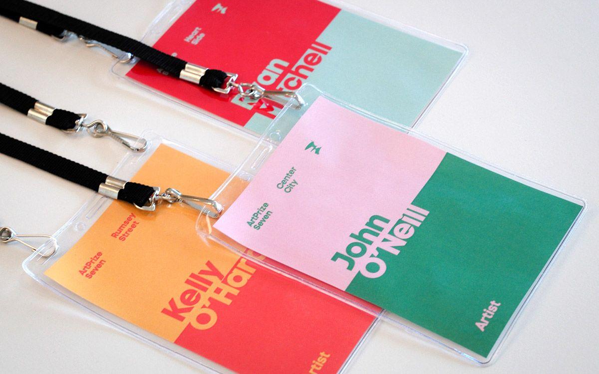 51 Creative Name Card Design | Design Swan |Creative Name Badge Designs