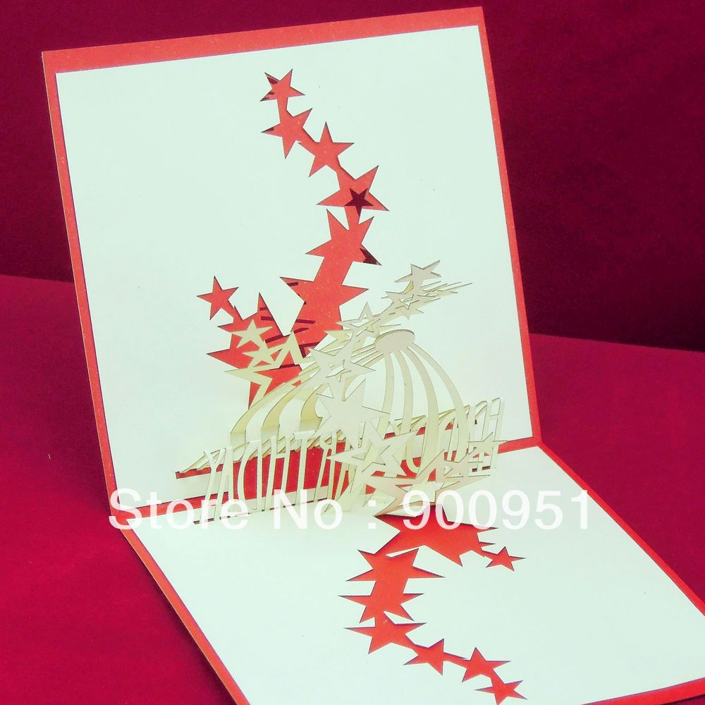 Handmade Pop Up Greeting Cards Ideas Happy Birthday Card
