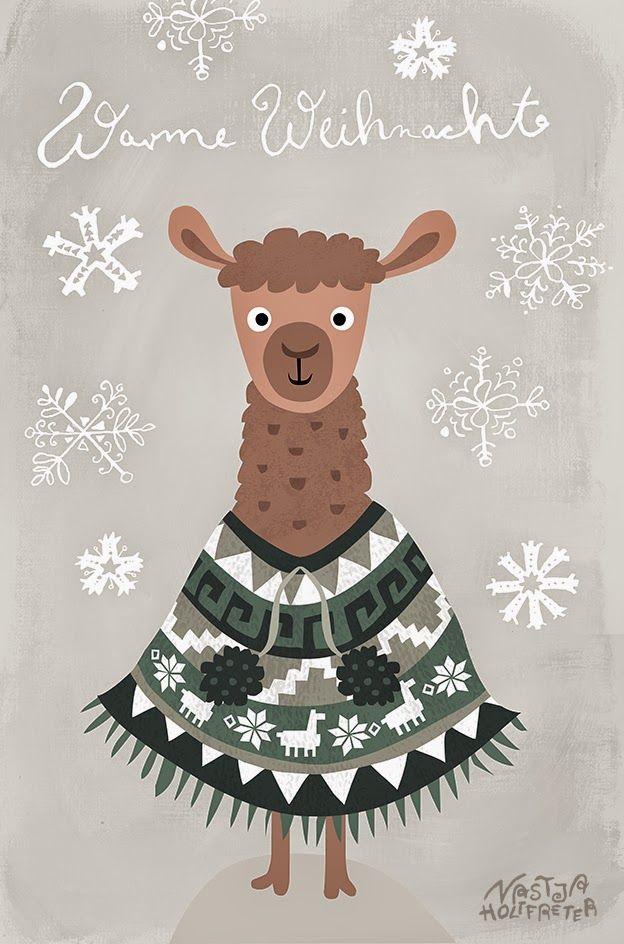 Nastja Holtfreter Illustration, Surface and Pattern Design: 9. Dezember