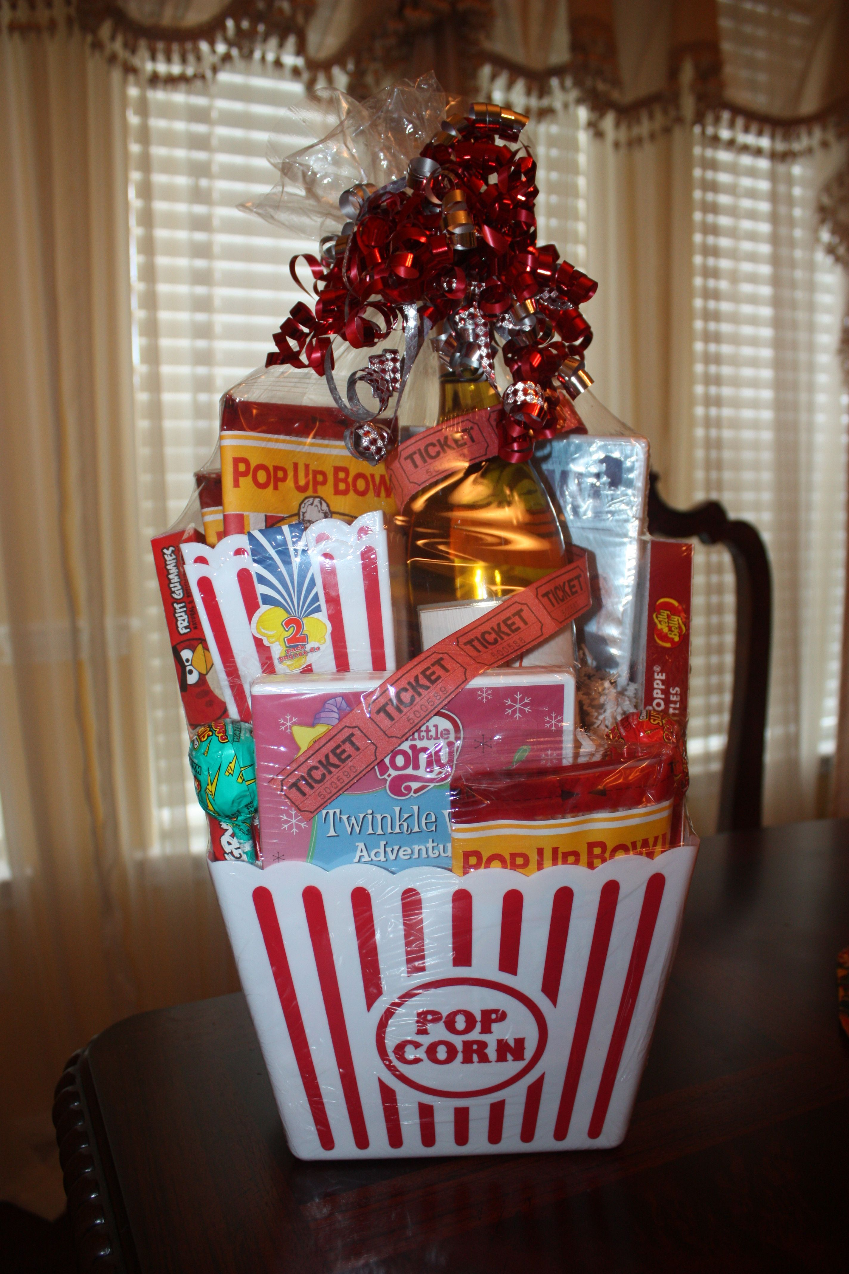 Closing gift at the movies theme real estate closing