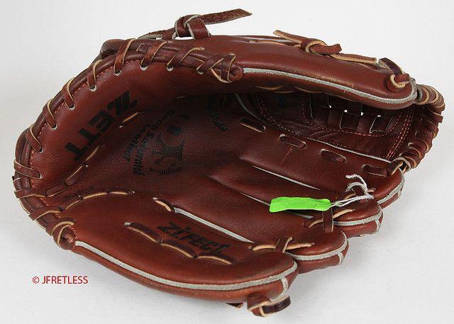 Zett Baseball Gloves Heavy Thick Pre Oiled Leather Baseball Glove Gloves Leather