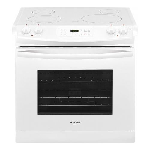 Frigidaire Ffed3026tw 30 Inch Drop In Range With Smoothtop Cooktop