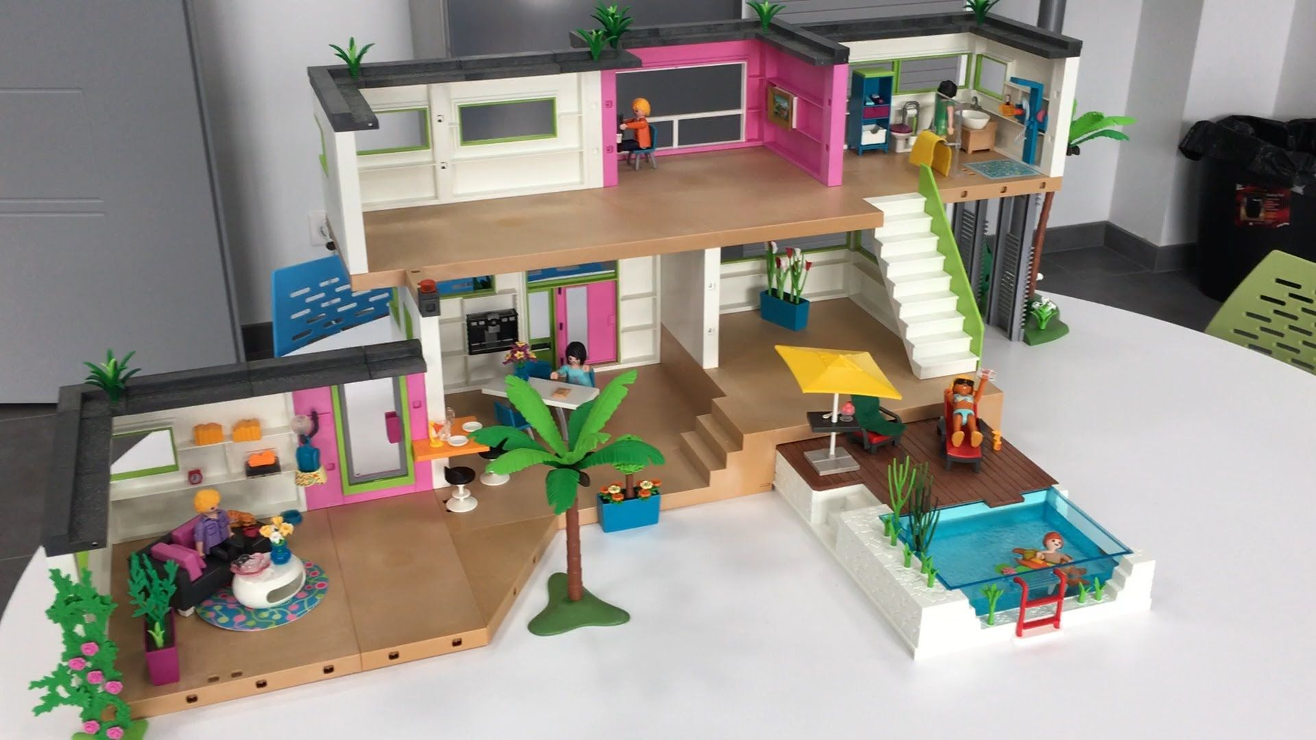 le studio des invit s playmobil 5586 extension de la. Black Bedroom Furniture Sets. Home Design Ideas