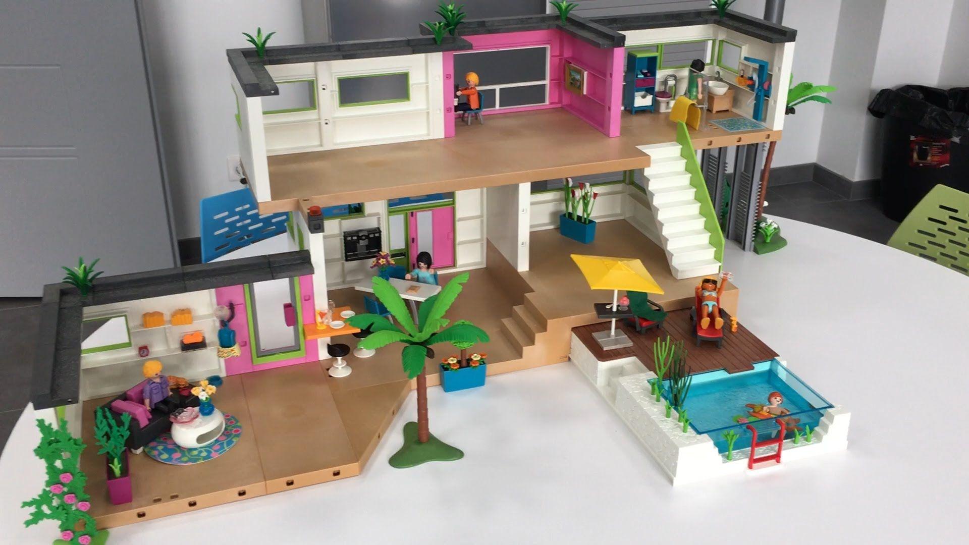 best playmobil maison moderne ideas. Black Bedroom Furniture Sets. Home Design Ideas