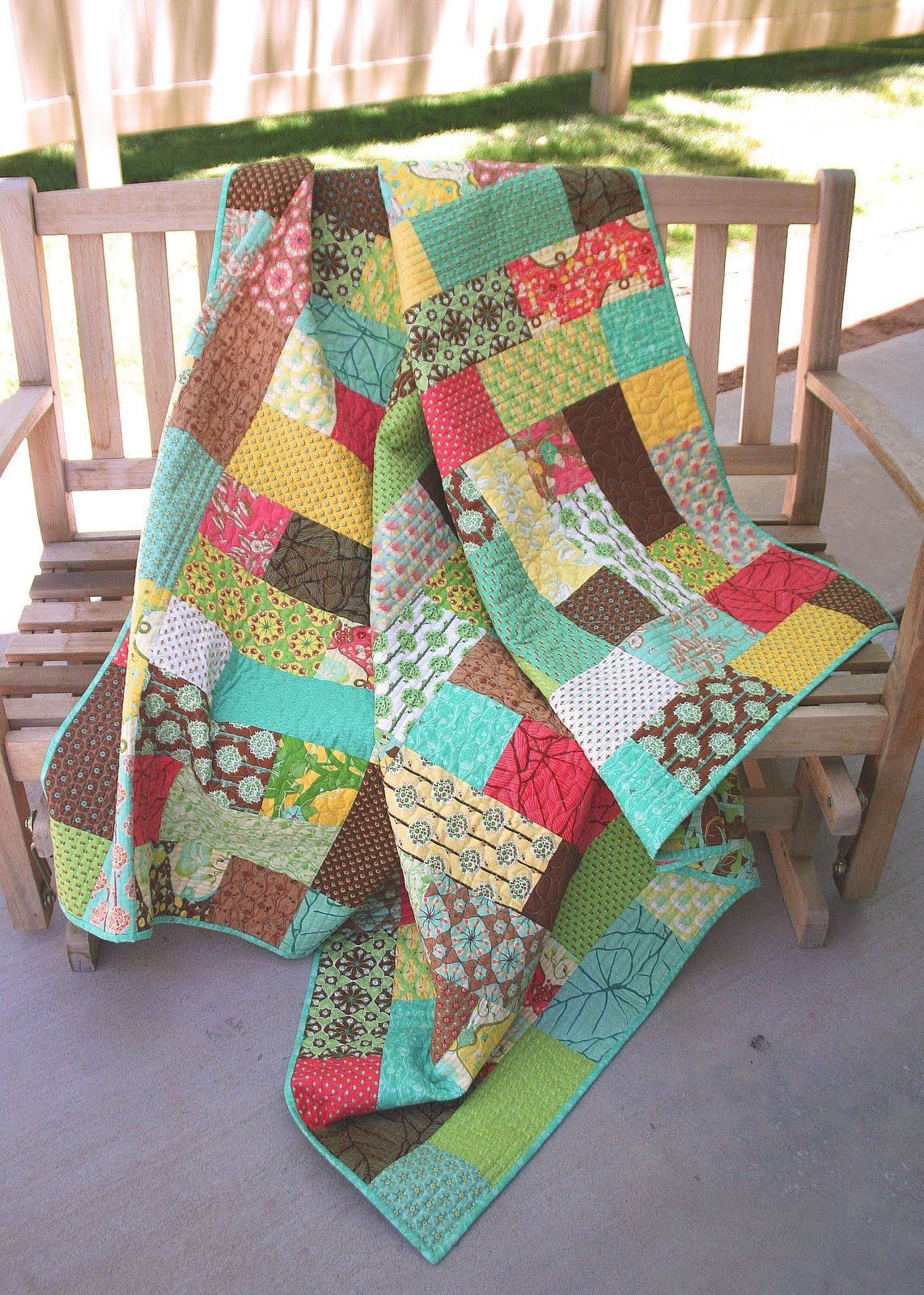 I Am So Excited To Be Sharing My First Quilt Tutorial I Fell In