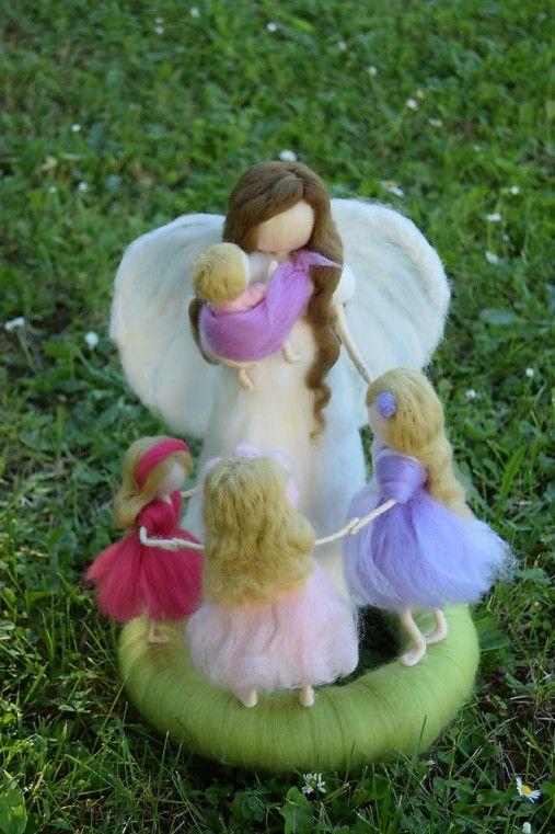 Lilinask / Maminka anjel s detičkami
