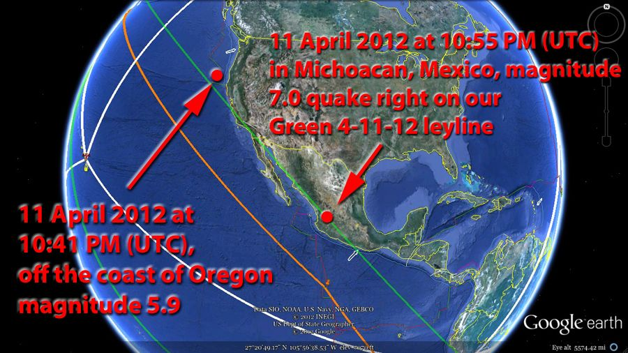 Magnetic Ley Lines in America | ... America-Mexico-California-Alaska on