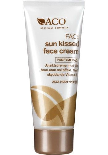 sun kissed face cream