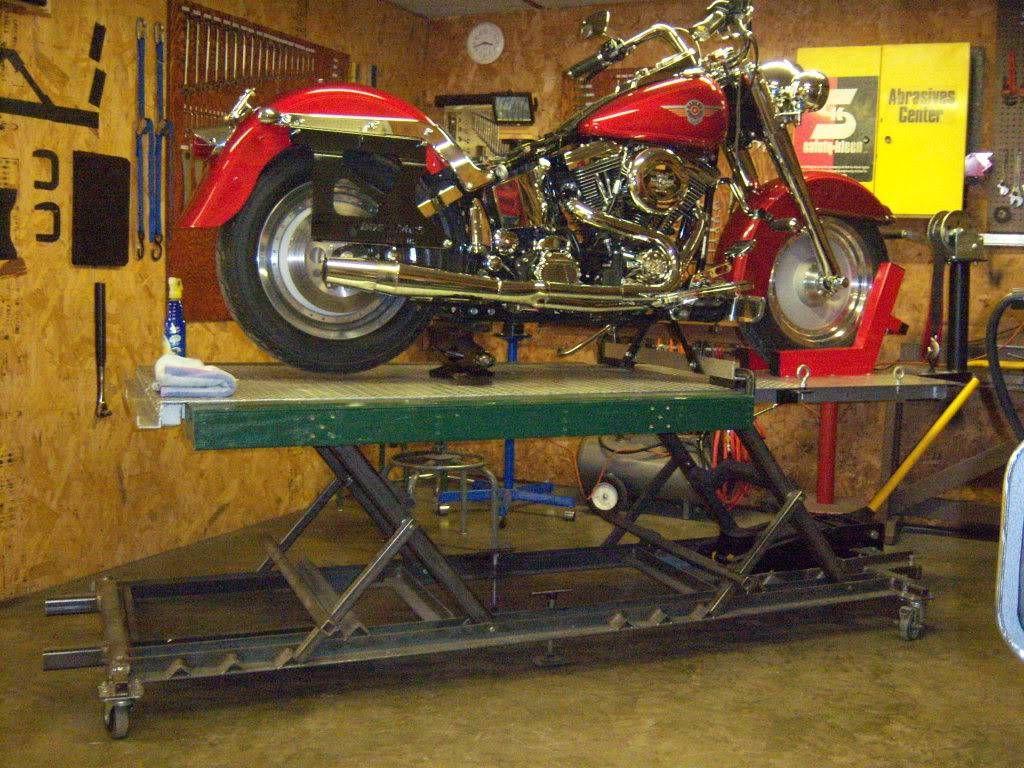 Home Made Lift Table (pics) - Page 2 - Harley Davidson
