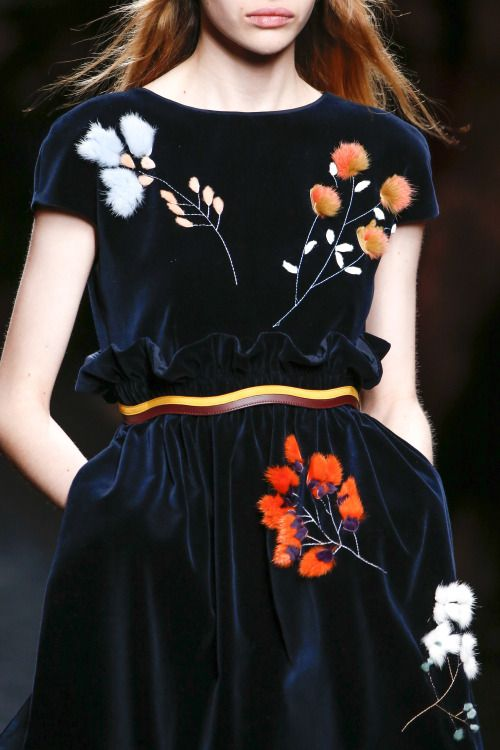 forlikeminded: Fendi | Milan Fashion Week | Fall 2016