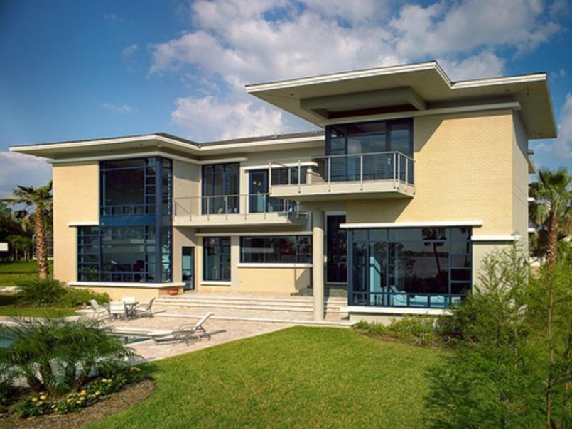 Flachdach Decken Minimalist : Minimalist house design modern facade of home