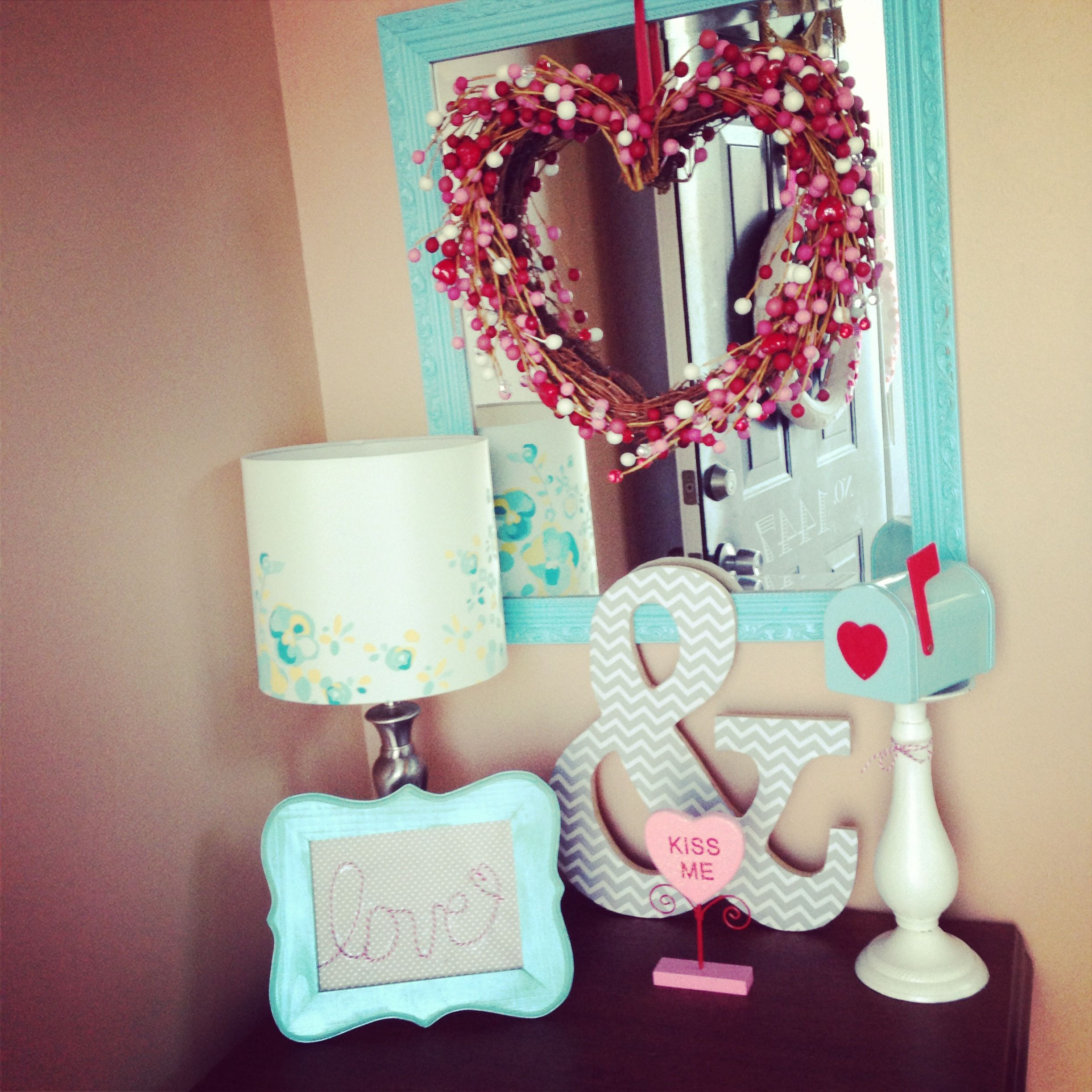The Party Porch-Valentine's Day entryway