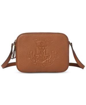 Huntley Camera Leather Bag   Products   Bags, Ralph lauren, Handbags 283d306ec1