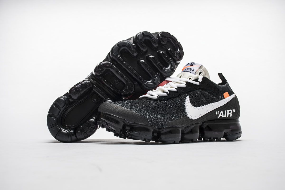 edb15fb50000 OFF-WHITE x Nike Air VaporMax Black White Shoes Best Price4