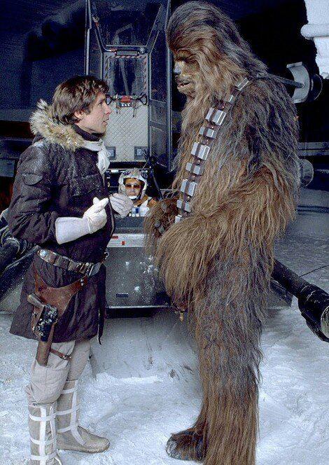 Han & Chewie. Empire Strikes Back.