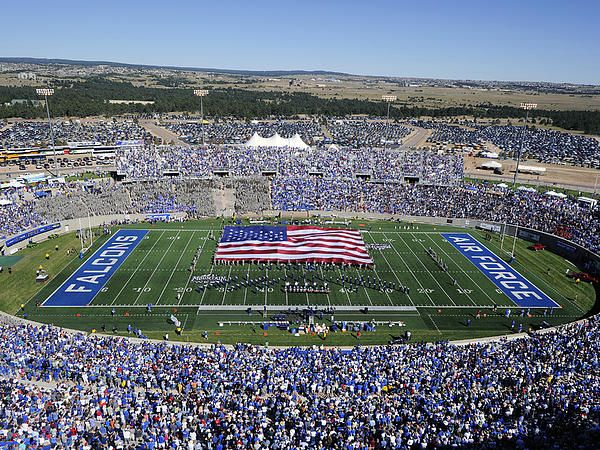 Air Force Game Day At Falcon Stadium Canvas Print / Canvas ...