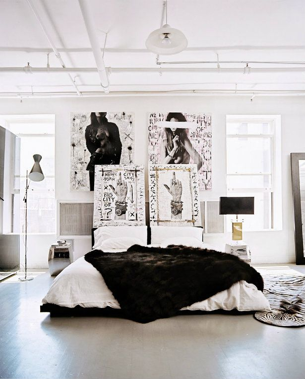 Bringing New York Loft Style Into The Bedroom Home Loft Style