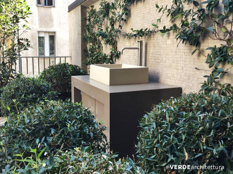 Sistema lavabo per ambiente terrazzo Ambiente, Terrazzo