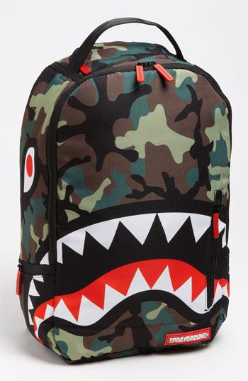 Boys Camouflage Backpack - BackpackStyle