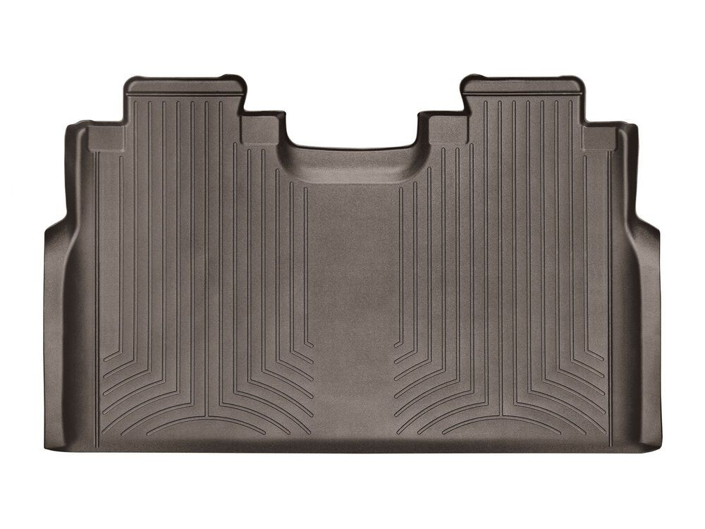 Weathertech Floorliner For 2015 2020 Ford F 150 Supercrew 2nd Row In Cocoa Ebay Weather Tech Ford F150 Floor Liners