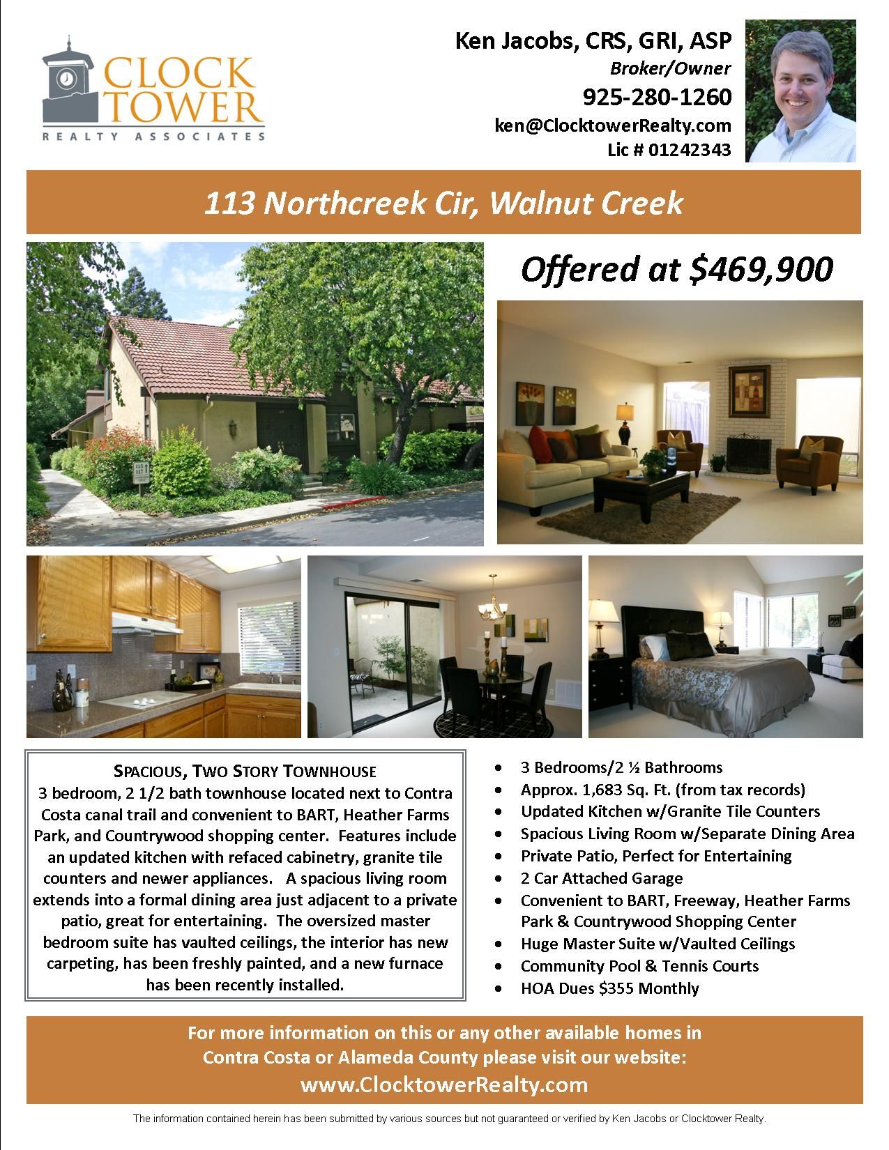 Home For Sale Brochure Awesome Flyers For Selling Houses  Marketingadvertising  Walnut Creek .