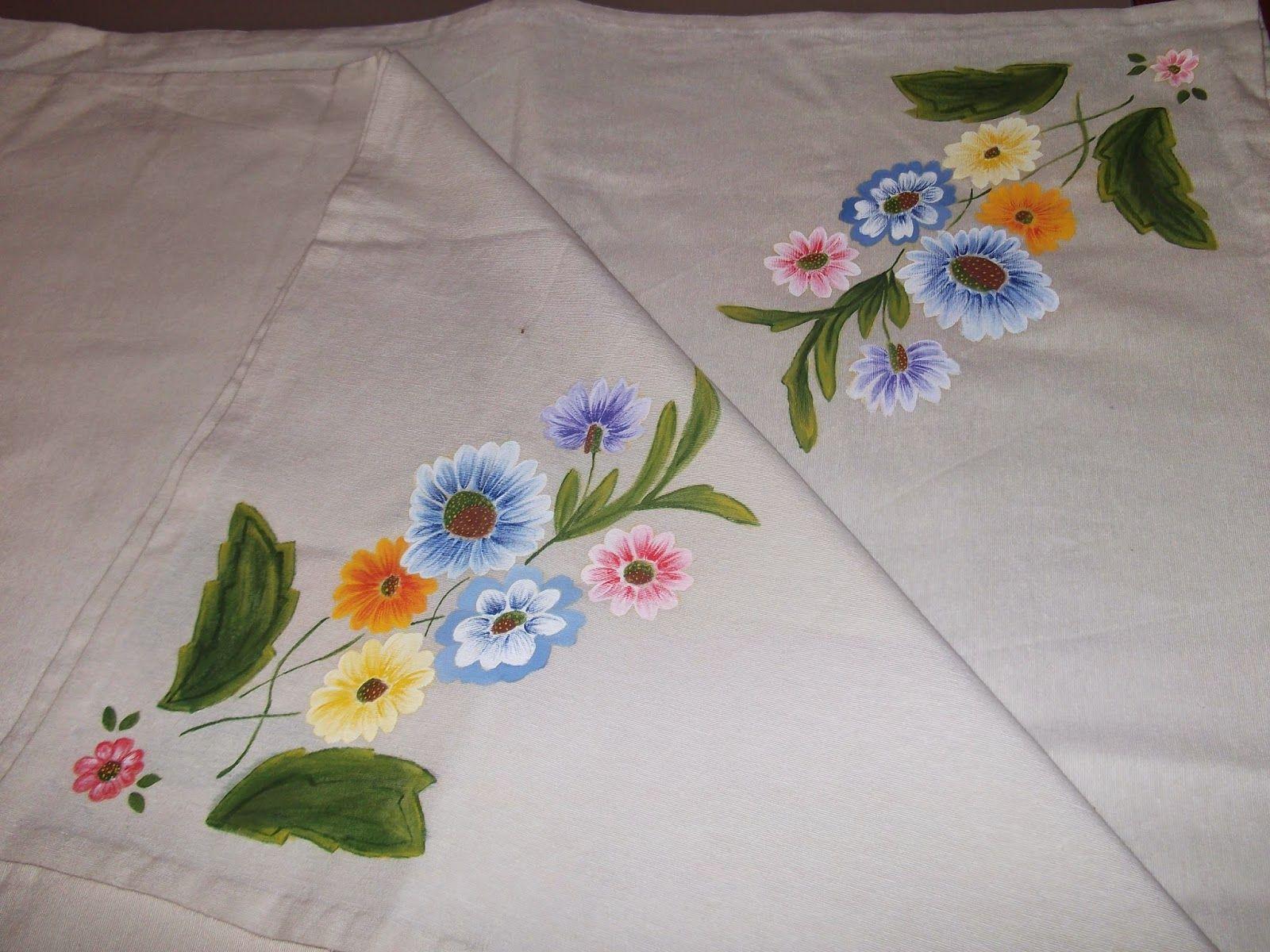 Cosas de cari mantel pintado con pintura de tela for Manteles de mesa