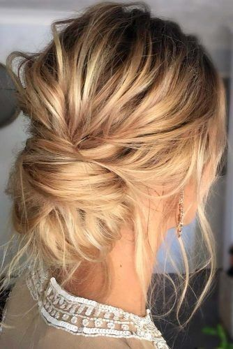 Einfache Hochsteckfrisuren für dünnes Haar - Neu Haare Frisuren 2018 #mediumupdohairstyles
