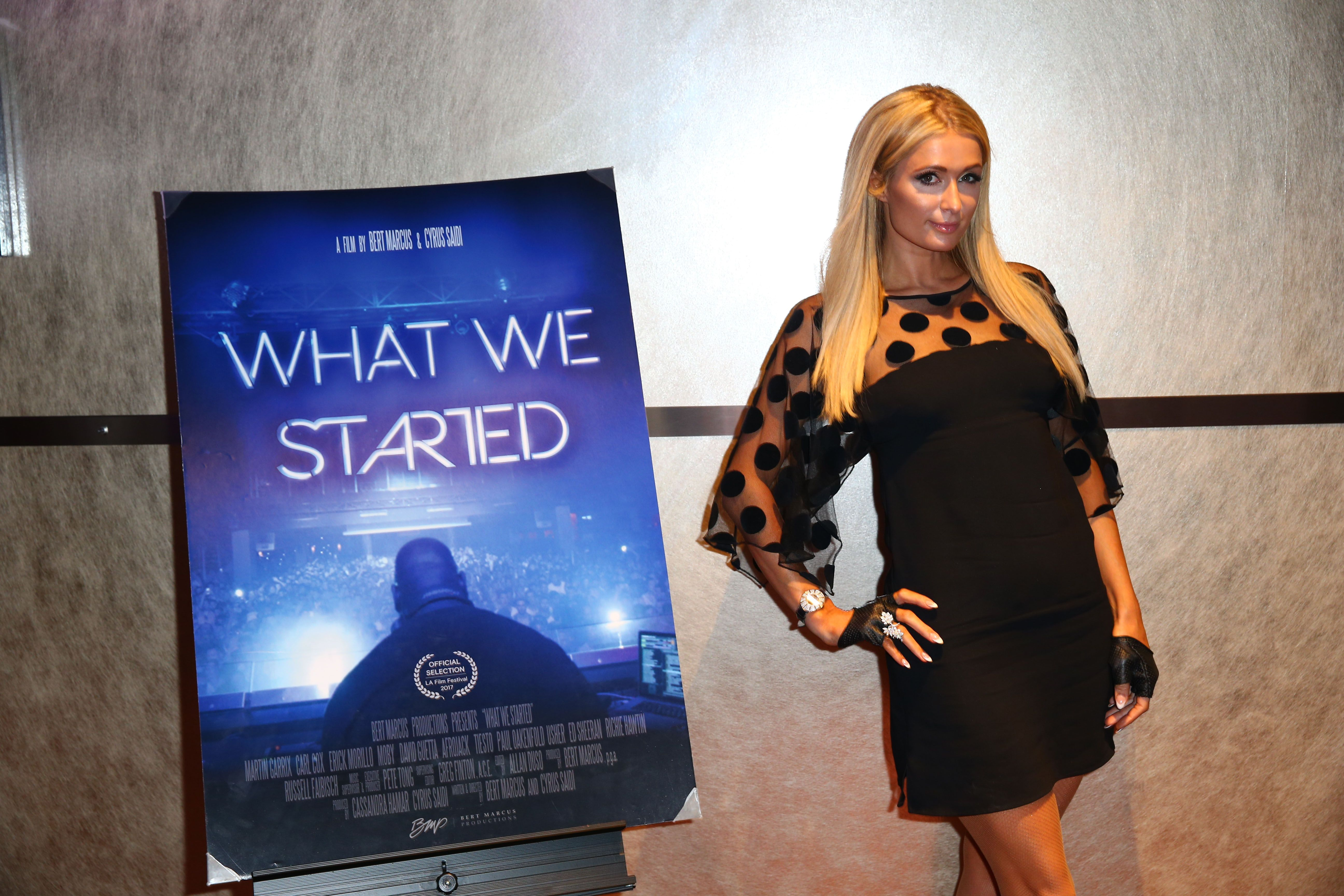 Russell Faibisch at the WHAT WE STARTED film premiere at the LA Festival c Bert Marcus Productions