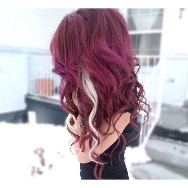 Trends For Cute Dyed Hair Tumblr Burgundy Hair Hair Color Burgundy Hair Styles