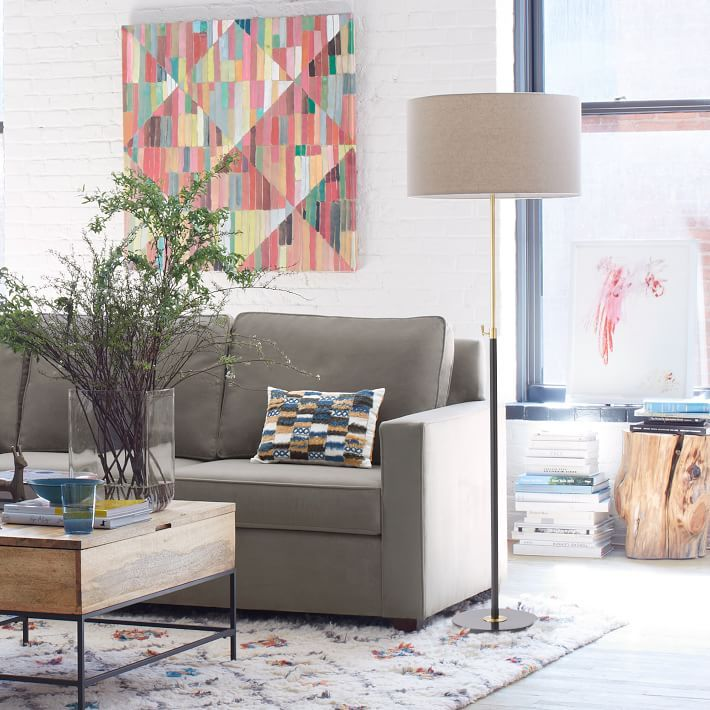 West Elms Contemporary Floor Lamps Add A Dramatic Touch To Your Living Room Bedroom