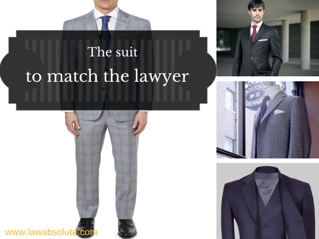 The suit to match the lawyer