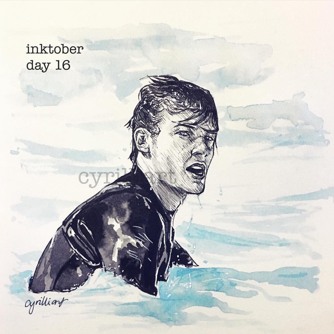 "@cyrilliart: ""Inktober // day 16"""
