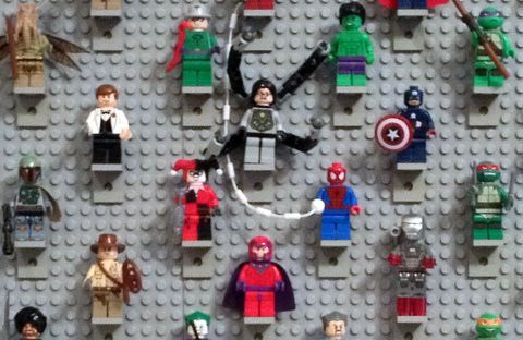 Lego minifigure display a diy project lego awesomeness lego minifigure display a diy project solutioingenieria Images