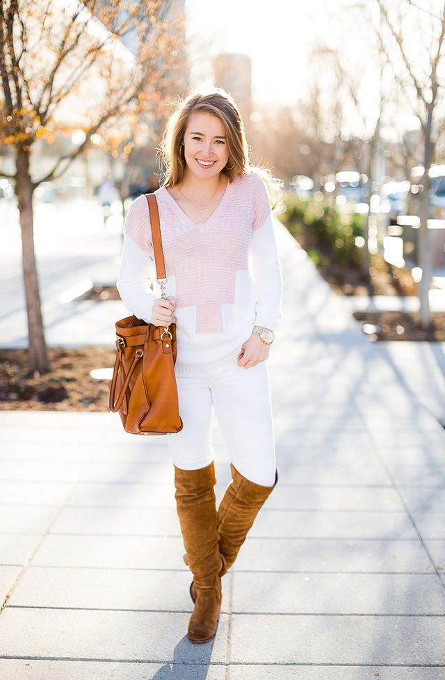 prettiest pink sweater