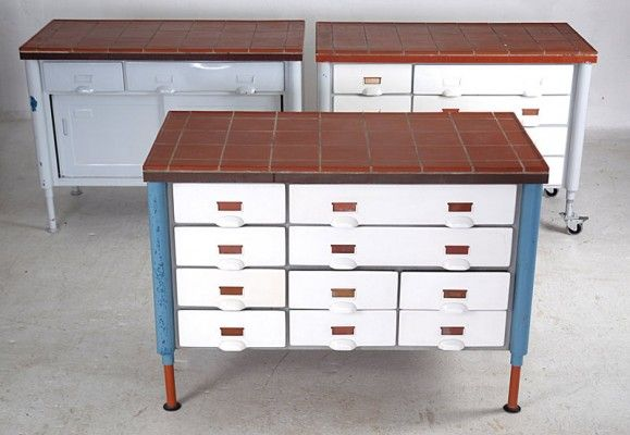 German Industrial Chest of Drawers, 1965 3
