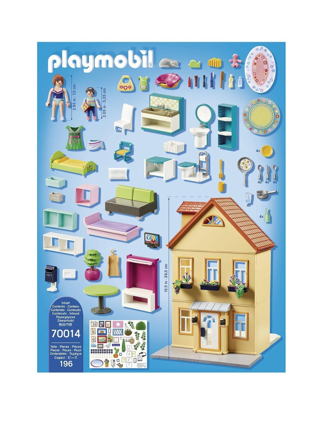 playmobila modern house building set playmobil city life my town house e colour e colour in 2020 playmobil modern house building a house pinterest