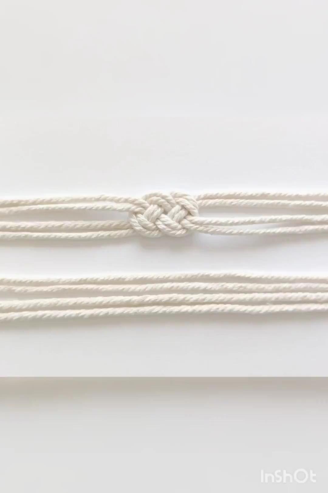 Photo of Josephine knot tutorial