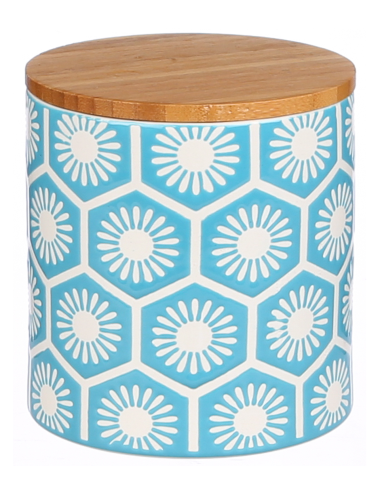Add A Bright Touch To Your Kitchen Bench With This Trendy Blue Canister From The Kate Reed Alicante Range