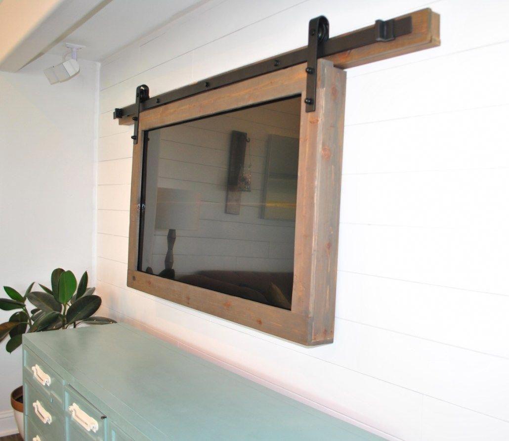 Custom Tv Frame Mount Breath Of Salt Air Tvwallmountdecor Framed Tv Wall Mounted Tv Tv Wall