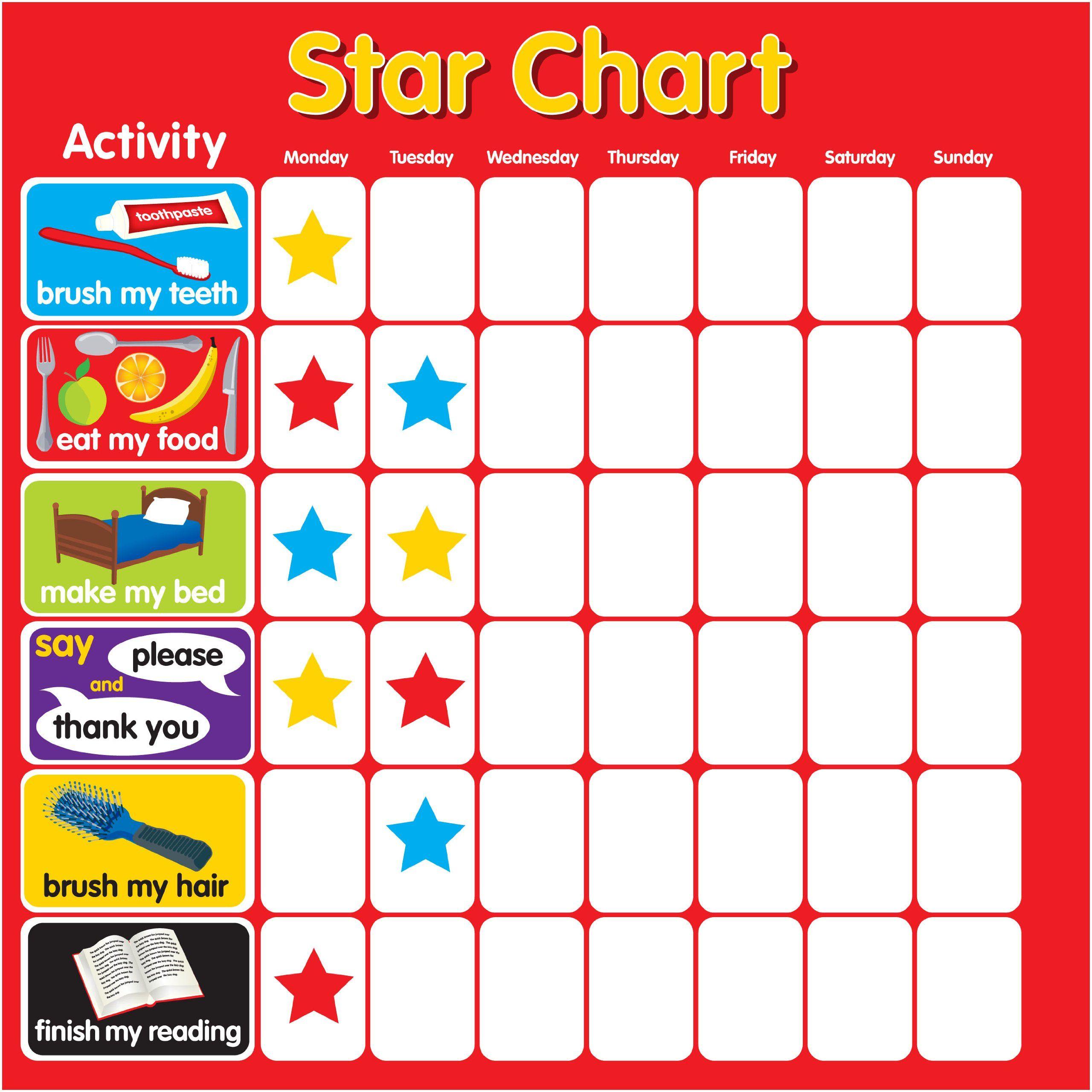 Reward charts kiddie fun pinterest