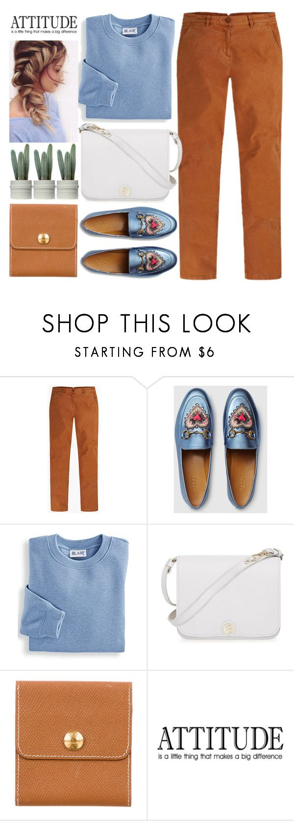"""""""Comfy Holidays"""" by jiabao-krohn ❤ liked on Polyvore featuring Gucci, Blair, Furla, Hermès and cozychic"""