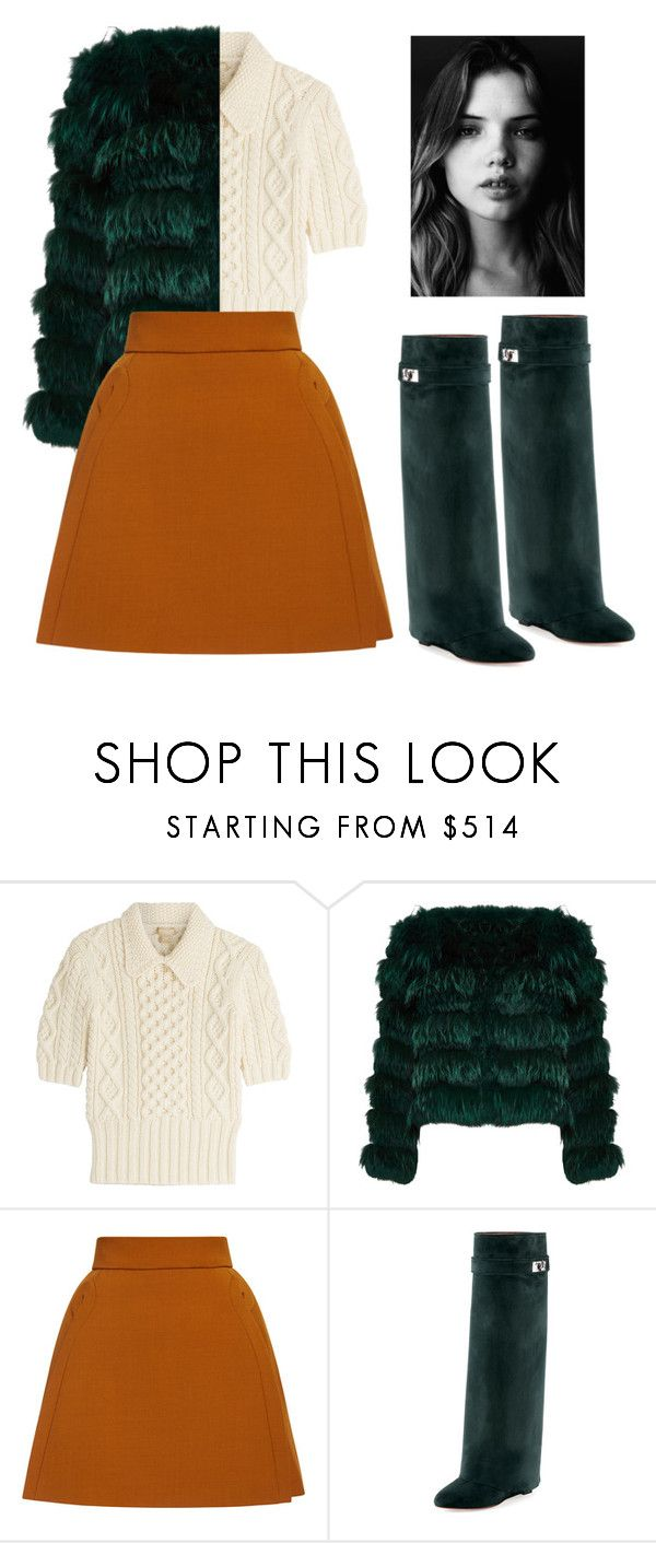 """""""60s mod fall"""" by milehhighlowlife on Polyvore featuring Michael Kors, Alice + Olivia, Delpozo and Givenchy"""
