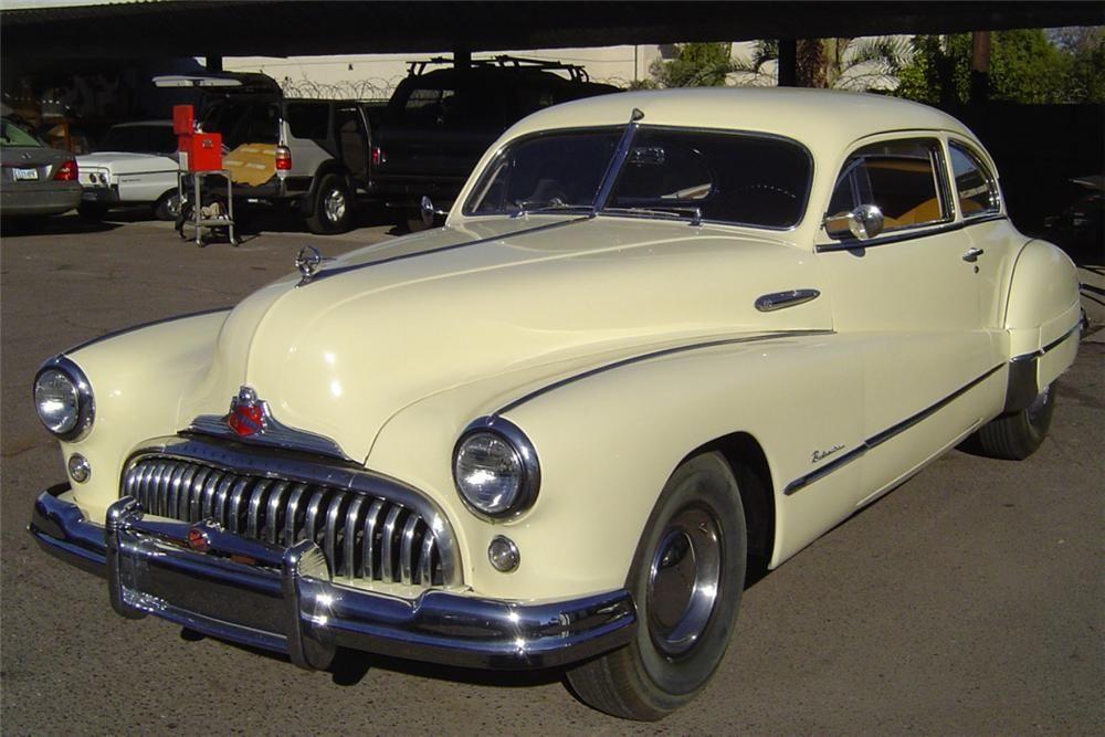1948 BUICK ROADMASTER SEDANETTE 2 DOOR FASTBACK –  – Barrett-Jackson Auction Company – World's Greatest Collector Car Auctions