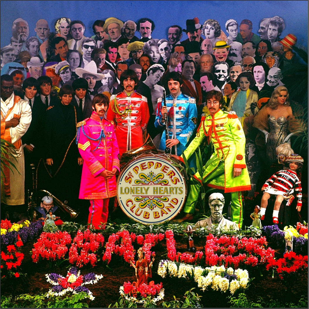 An alternative Sgt. Pepper's cover.