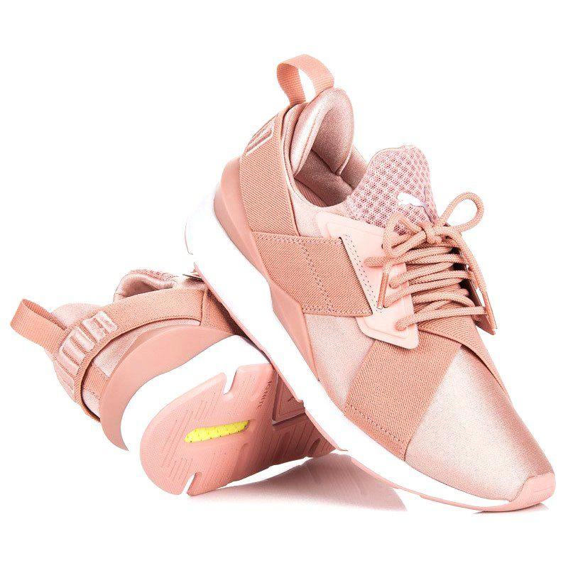 Puma Muse Satin Ep Wn S Rozowe Puma Sneakers Sneakers Nike