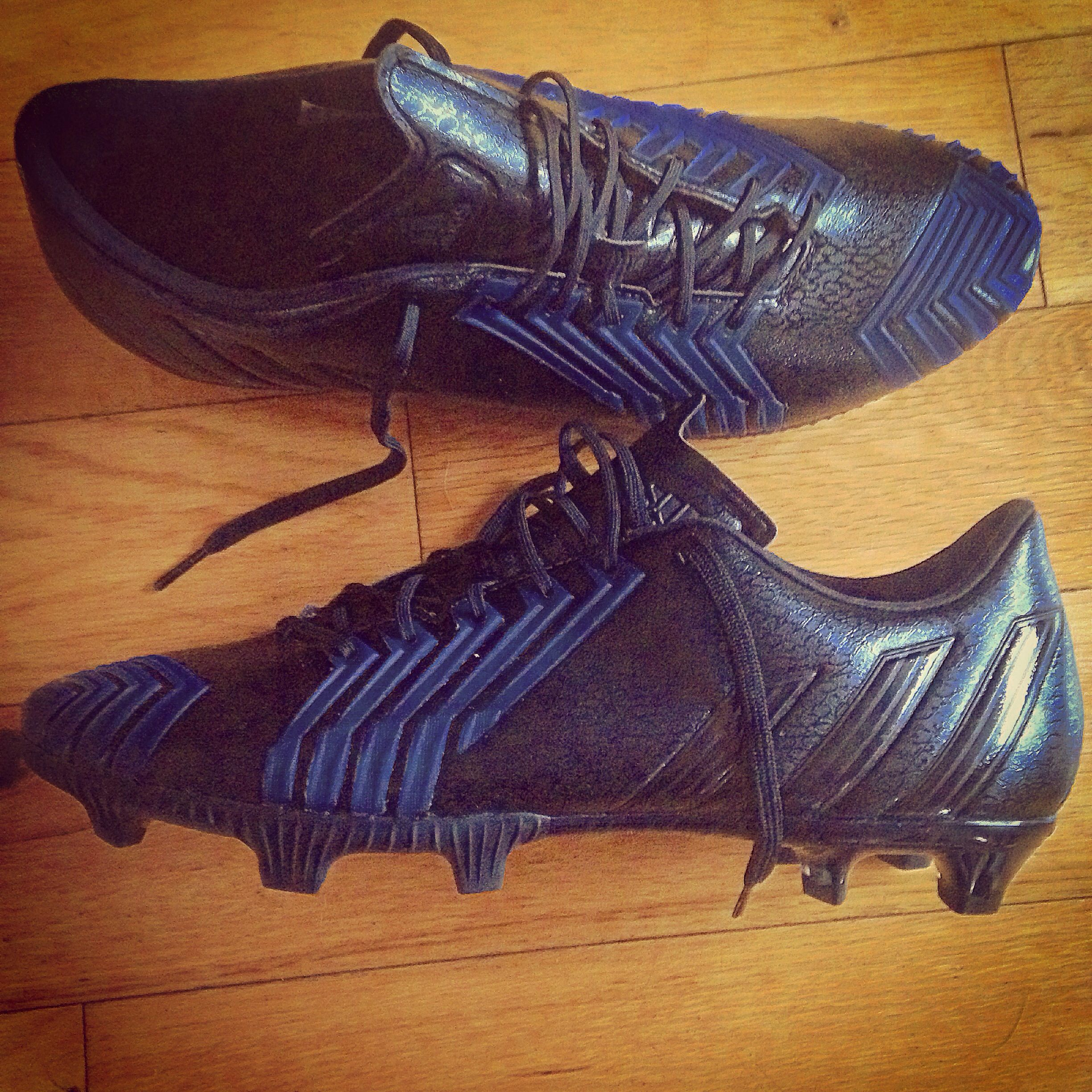 0f112cab1 My new football boots! Blackouts are just too cool! | Sport ...